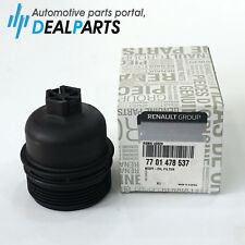 Genuine Renault Oil Filter Housing Cap 7701478537, Renault Master Nissan NV400