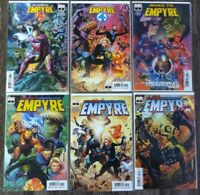 Empyre (2020) #1-6 + Tie-Ins 1st Hulkling Fantastic Four Avengers Marvel Ewing