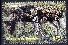 Lycaon, King of wolves,  Wild Animals, Togo 2001 MNH - E97
