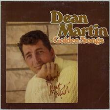 DEAN MARTIN - Golden Songs - LP - Autogramm auf Hülle signiert