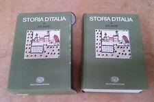 STORIA D' ITALIA 6 - Atlante EINAUDI 1976
