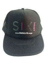 SIX Appeal Hat Samsung Galaxy S6 Edge Black SnapBack Trucker Cap