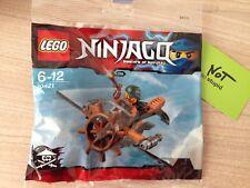 LEGO Ninjago skybound plane polybag Neuf Scellé Rare ref: 30421
