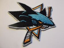 "San Jose Sharks Embroidered Patch~3"" x  2 7/8""~Iron Sew On~NHL~Ships FREE"