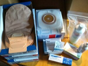 Convatec Natura Colostomy Supplies. Complete kit. See pictures. Unopened