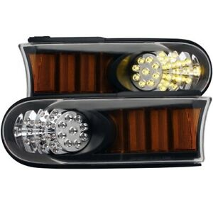 Anzo 511078 LED Parking Lights Amber Reflector For 07-13 Toyota FJ Cruiser NEW