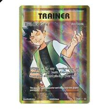 Brock's Grit 107/108 F/A XY Evolutions HOLO PERFECT MINT! Pokemon
