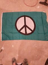 Peace Flag Peace Sign Symbol Banner Hippie 3x5 Foot Indoor Outdoor New