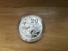2011 CANADA $20 for $20 Maple leaves silver coin with COA - First in series