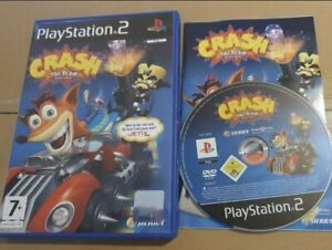Crash Bandicoot Tag Team Racing GAME For Sony  Playstation 2 PS2