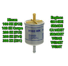 Replacement HENGST FUEL FILTER for Nissan 100nx B12 200sx S13 S14 300zx Z31