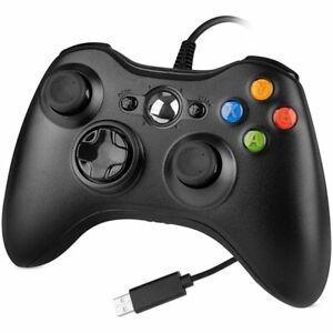 Xbox 360 Wired USB Controller / Microsoft Xbox ONE PC Windows XP 7 8 10 / PS3