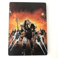 Halo Wars Limited Edition Steel Bookcase Microsoft Xbox 360 (2009)
