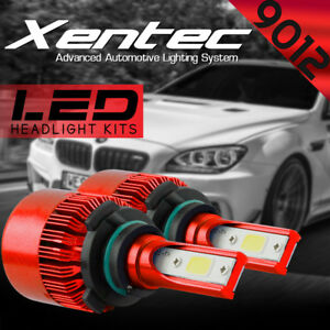 XENTEC LED HID Headlight Conversion kit 9012 6000K for 2013-2016 Cadillac ATS