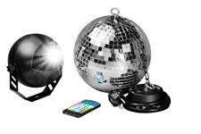 7even LED Spiegelkugelset 30cm mit Fernbedienung / Party Keller Disco Disko Kuge