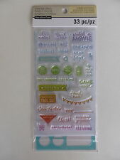 *NEW* Recollections 'Planner Accessories' Stamp & Stencil Set 'PHRASES'