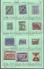 AUSTRIA...#191//550...Mint & Used....1918/51...12 Diff...SCV $26.55