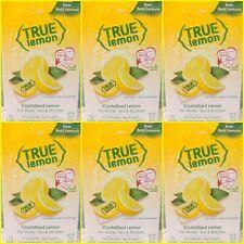 72 True Lemon 0 Calorie Unsweetened Crystallized Lemon Packets 6 Boxes Of 12