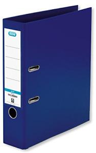 Elba, A4 Lever Arch Files, Blue, Plastic, 1 Folder