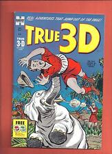 True 3-D #1 High Grade Harvey File Copy Nostrand, Powell Art 1953 NM