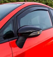 Ford Fiesta 2008-2017 Mk7 Mirror Cap Case Cover Gloss Black Left And Right