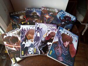 Lot Manga Capitaine Albator T 1 2 3 4 5 6 7 8 L Matsumoto - K ShimaBoshi - Kana