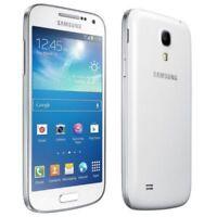 """Blanco Samsung Galaxy S4 Mini GT-I9195 4.3"""" 4G LTE Libre Telefono Movil 8GB 8MP"""