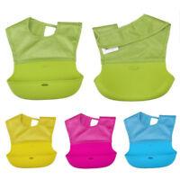 # Qzo Ctt Silikon Baby Lätzchen Wasserfest Three-Dimensional Essen Taschen