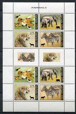 Niederländische Antillen 2008 Giraffe Elefant Zebra Leopard KB 1665-1668 MNH