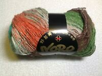 Noro Taiyo #88 Lemon Rose Violet /& Black 100g Cotton Silk /& Wool