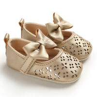 Newborn Baby Girl Crib Shoes Princess Infant First Step Shoes Size 3 6 9 12 18 M