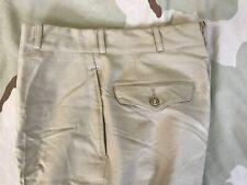 Us Army Vintage Khaki M-1 Trousers Wool tropical Dress Pants Nsn 8405-753-6025
