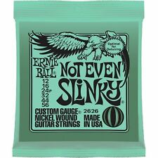 Ernie Ball 2626 Not Even Slinky Nickel Wound Electric Guitar Strings, 12-56
