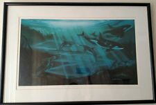 """George Sumner """"Where The Mountains Meet The Sea"""" Ltd Edition Lithograph 369/750"""