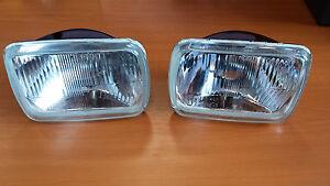 Jeep Cherokee XJ Scheinwerfer Headlight Kit Set New Neu 2x