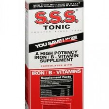 S.S.S. Tonic Liquid 20 oz High potency iron and B-Vitamin Supplement