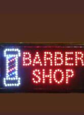 Hairdressers Barber Pole Salon Hair Cut Led Flashing Shop Sign Kids Adults