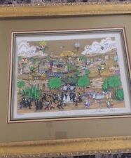 "Charles Fazzino 3D Pop Art ""Wedding In Jerusalem""signed by artist! FREE SHIPPING"