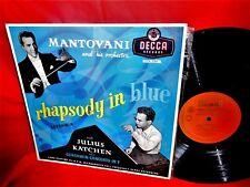 MANTOVANI Rhapsody in blue Gershwin w Julius Katchen LP 1955 AUSTRALIA VG++