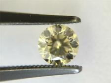 0.51 CT FANCY YELLOW ROUND BRILLIANT CUT LOOSE DIAMOND GIA CERTIFIED