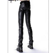"""Skinny Buckle Pants Dollmore Black 28/"""" BJD clothes  Glamor Model M Size"""