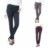 Buffalo Womens Stretch Skinny Mid-Rise Pants Choose Size & Color