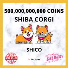 500,000,000,000 SHIBACORGI COINS 500 BILLION SHICO COIN MINING CONTRACT Crypto
