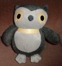 Kohls Cares for Kids Owl Aesops Fables Charles Santore Plush Stuffed Bird Gray