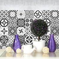PS00063 Adesivi murali in pvc per piastrelle per bagno e cucina Stickers design