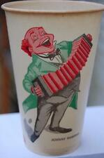 RARE Antique Johnny Hampden Beer Ale Willimansett Mass. Ma. Dixie Cup Can Bottle