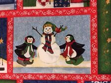 PNL11 Christmas Gift Labels Present Tags Xmas Cotton Fabric Quilt Fabric Panel