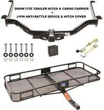 TRAILER HITCH + CARGO BASKET CARRIER + SILENT PIN LOCK FITS 08-14 NISSAN ARMADA