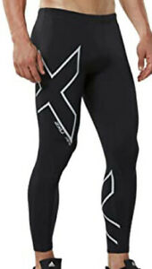 2XU Hyoptik Thermal Compression Tights Men's Large Black Reflective