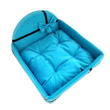 Pet Bed Set Cat Dog Mattress Pillow Puppy Waterproof Nest Warm Kennel Cushion
